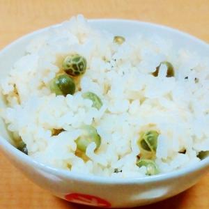 春の味☆シンプル豆ごはん