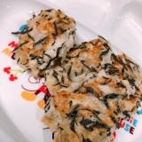 離乳食〜後期〜鶏ひき肉の豆腐ひじきハンバーグ♡