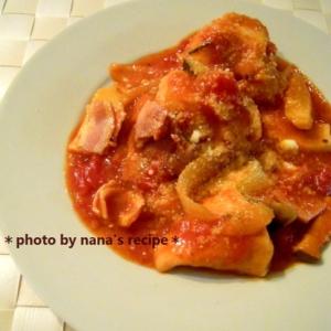 フライパン一つで★チキンのトマト煮込み