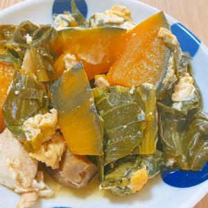 冬菜とかぼちゃの煮物