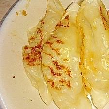 チルド餃子の生姜焼き