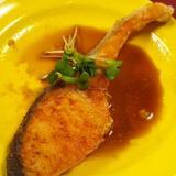 鮭の生姜醤油ダレがけ