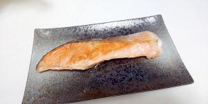 鮭のスパイシー焼き++