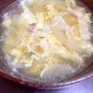 ジョ○フルのスープバーみたいな?コンソメスープ