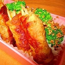 [お手伝いレシピ]もやしの肉巻き・柚子胡椒醤油