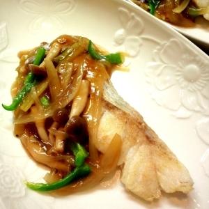 お好みの魚と野菜でお試しを♪「魚の甘酢あんかけ」献立