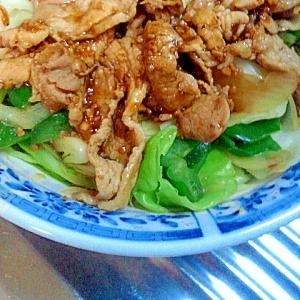 男の自炊料理。焼き肉焼き野菜。うまそうやろぉ~^^