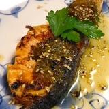 鮭の梅大葉焼き