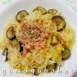 茄子とツナのスパゲッティ