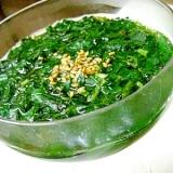 モロヘイヤの冷たいスープ