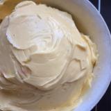 甘さ控えめ♡クレーム.アングレーズでバタークリーム