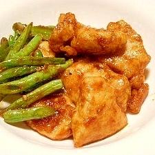 お弁当に~☆鶏胸肉のケチャップソースソテー