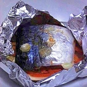 経済的 さばみりんの柚子ホイル焼き