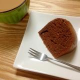炊飯器で簡単チョコケーキ