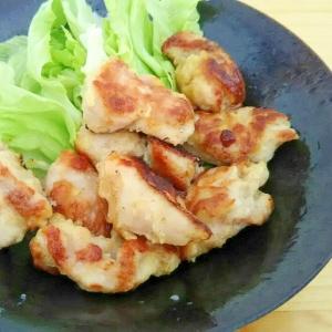鶏もも肉のガーリック炒め