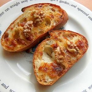 おやつパン❤バタールの味噌トースト(グラニュー糖)
