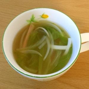 シャッキリレタスのスープ