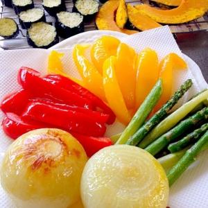 野菜の素揚げです☆素材の彩り&旨みを楽しめます♪♪