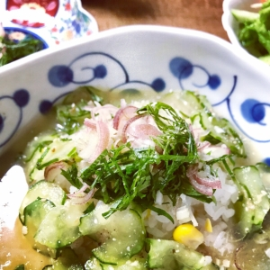 暑い日に食べたい!冷や汁ご飯