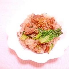 ターサイの豚小間炒飯