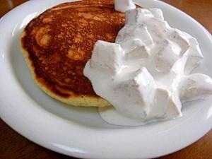 パンケーキ*バナナメープルクリーム