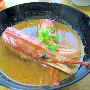 絶品!!超簡単 ・美味しい☆海老の味噌汁♥