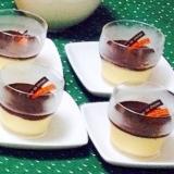 クリスマスレシピ#5 ババロア チョコレートソース