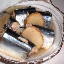 サンマの塩煮