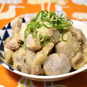 ホッコリ☆豚バラと里芋のごまみそ煮