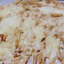 冷凍で簡単 フライドポテトのチーズ焼き