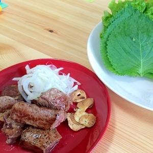 野菜たっぷり☆フライパン焼肉とタレ