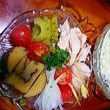 彩り夏野菜deバランス素麺ランチ