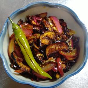 ワンバトゥ・モージュ☆ナス☆スリランカ家庭料理