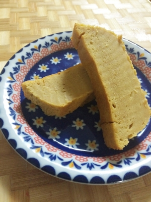 簡単!完熟柿&クリームチーズのパウンドケーキ