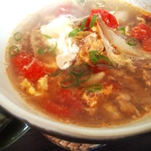 ダイエットメニュー♪ミョウガたっぷり中華スープ☆