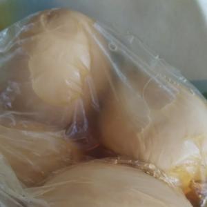 ピリ辛の酢卵