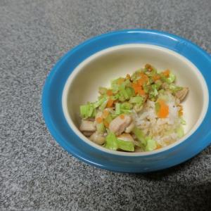 犬ごはん☆チキン野菜炒め