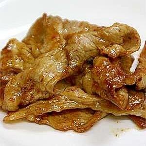 がっつりお弁当に!豚肉のピリ辛醤油ソテー