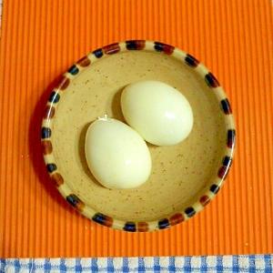 塩麹のゆで卵♪
