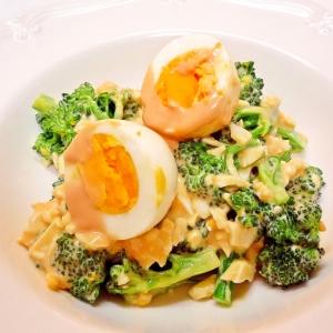 ブロッコリーとゆで卵のオーロラサラダ