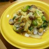 あさりのお出汁でおいしい野菜煮☆