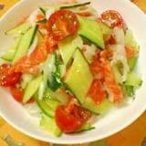 野菜たっぷり♡サーモンマリネ