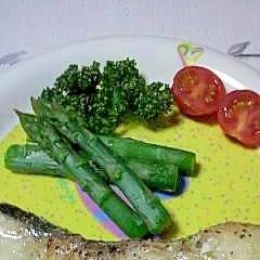 真鱈のオリーブオイル焼き
