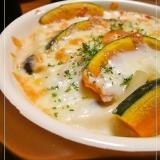 とろとろとろける✿牡蠣とかぼちゃのマカロニグラタン