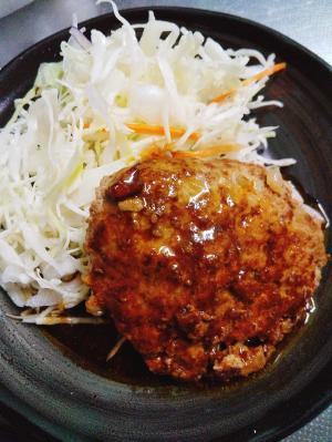 パプリカ入りのヘルシー豆腐ハンバーグ