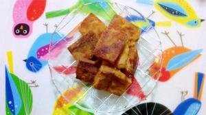カレー味凍り豆腐からあげ
