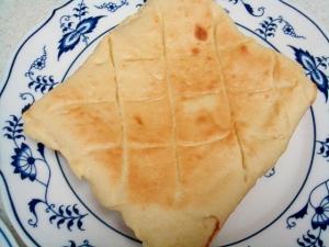食パンでメロンパン