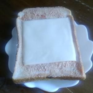 お手軽トースト!