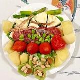 クリームチーズのおつまみサラダ~♪