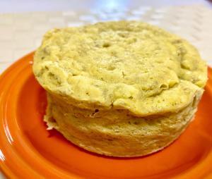 腸活朝ごはんに★混ぜて簡単 バナナ蒸しパン